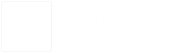 executive homes logo white