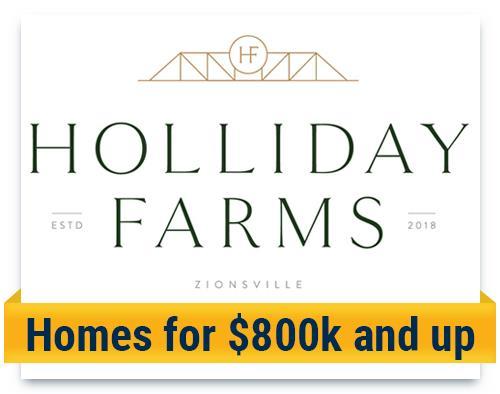 holiday farms starting at 800