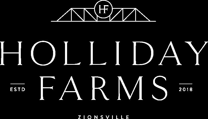 holiday farms logo white